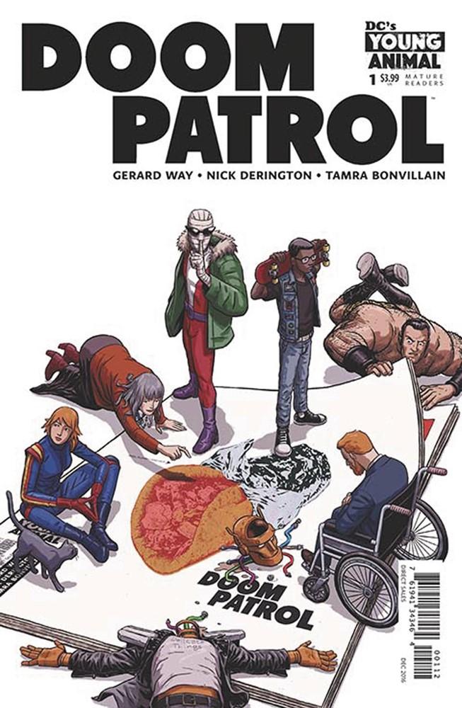 DC, 2017 NM Doom Patrol #5