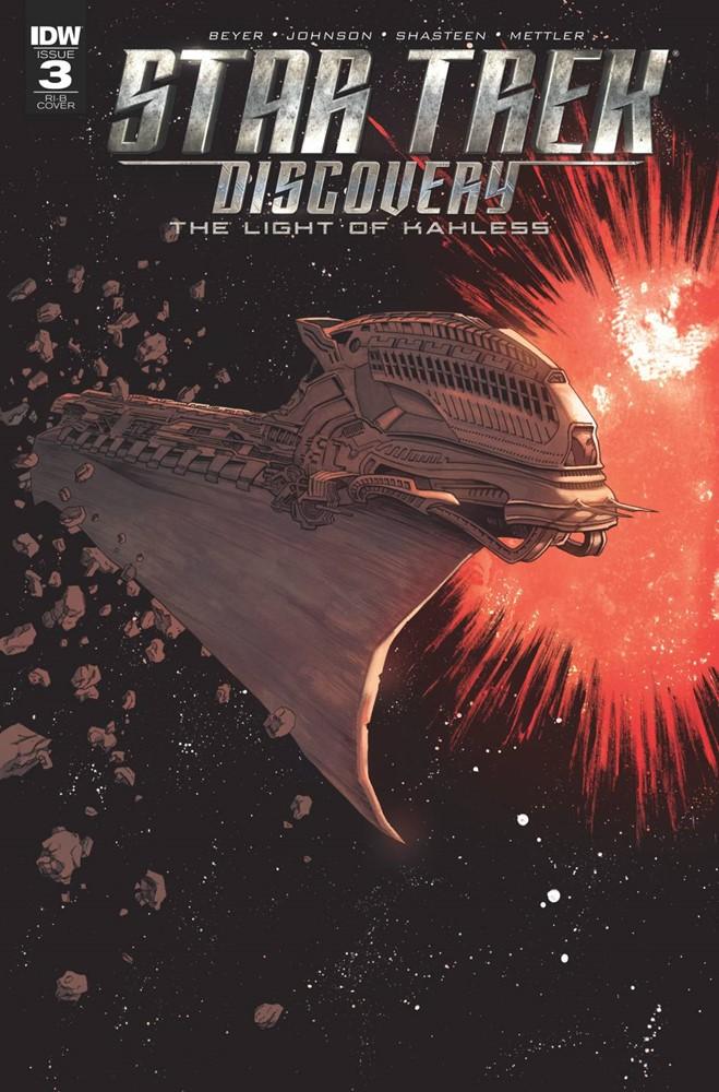 Star Trek Discovery 3 D Shalvey 1 In 25