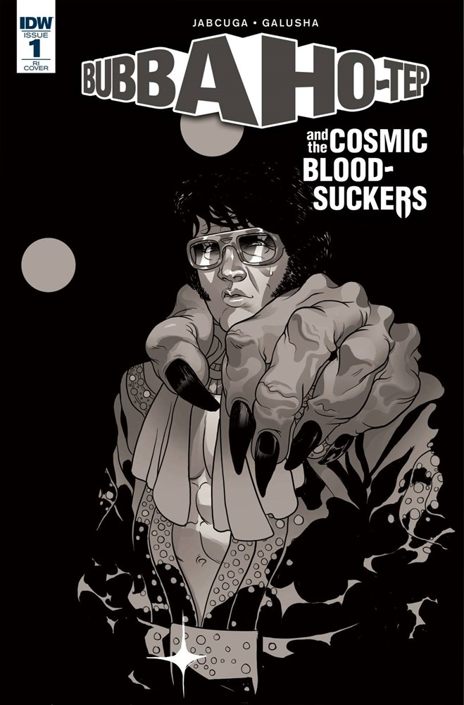 BUBBA HO-TEP /& COSMIC BLOOD-SUCKERS #1 COVER B GALUSHA IDW NM