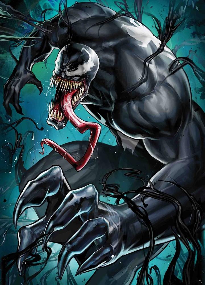 Venom (2018) #7: B: Yoon Lee Marvel Battle Lines - Atomic Empire