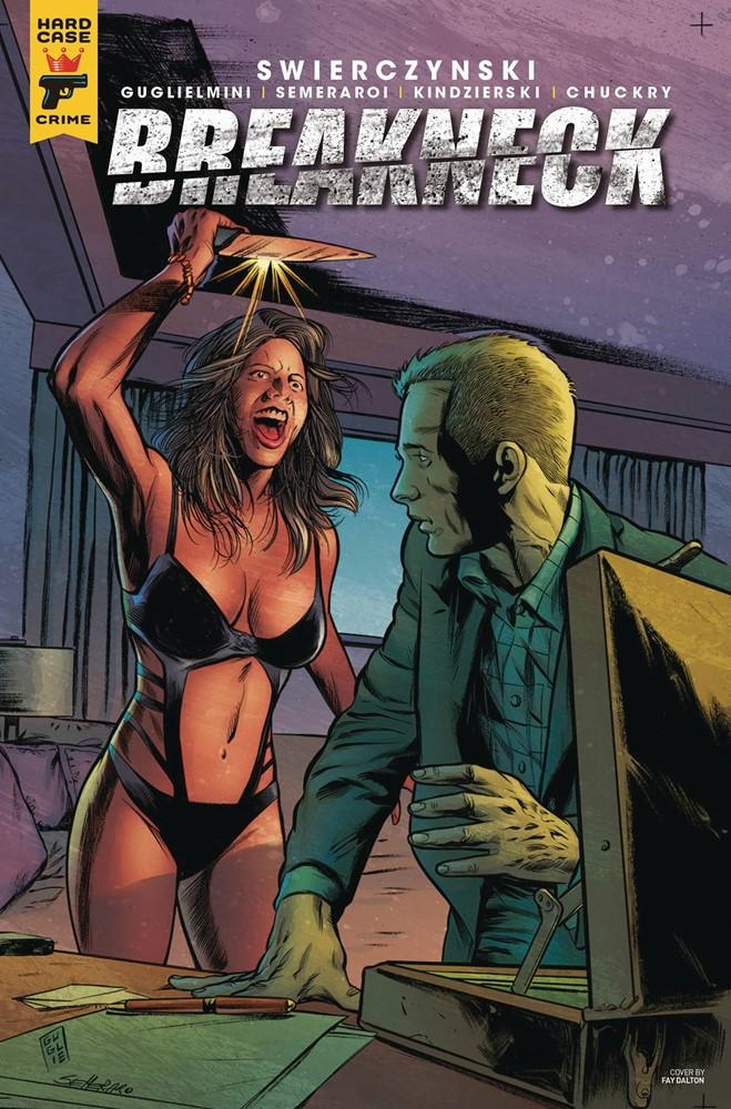 Breakneck #1 A Cover NM Hard Case Comics Book