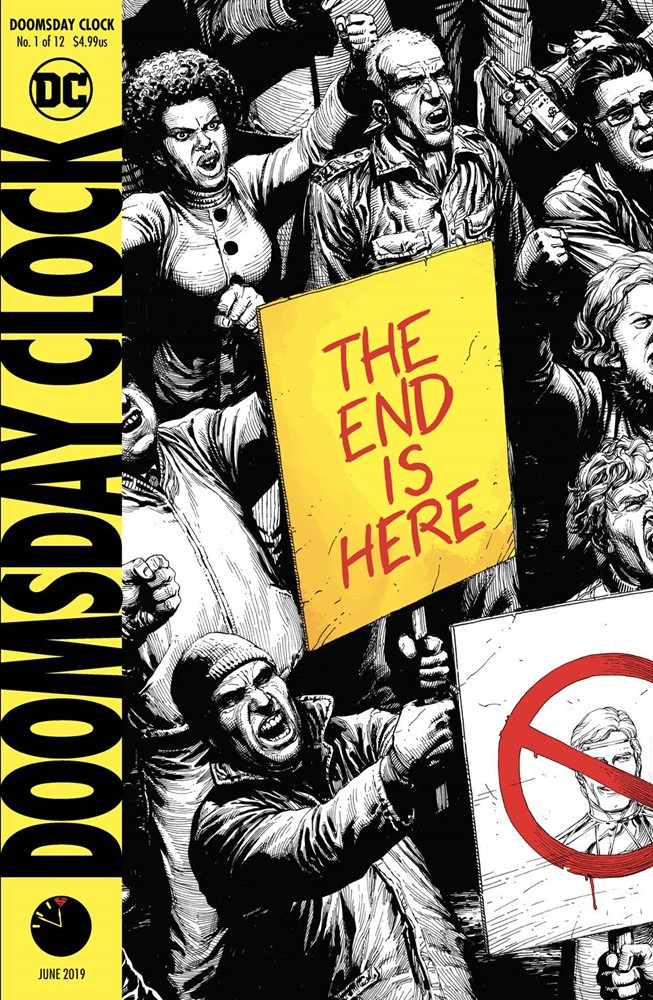 Doomsday Clock 6 Of 12 Variant Cover Nm Dc