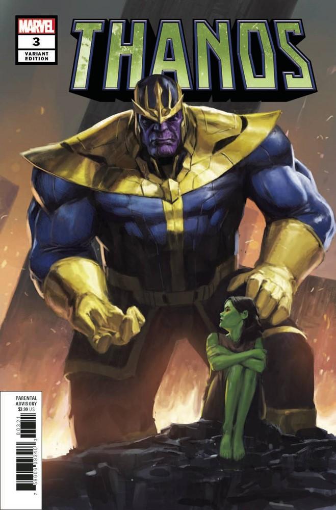 NM Thanos #3 Spider-Man Worldwide Suit Variant Marvel, 2019