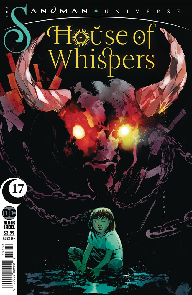 #9 NM Stock Image House of Whispers DC