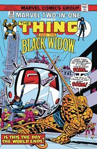 True Believers Black Widow - The Thing