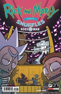 Rick and Morty Presents Snuffles Goes to War
