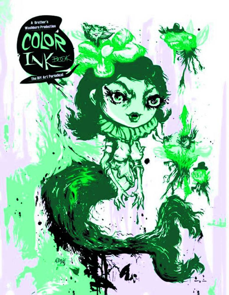 Browse issues of Color Ink Book: DIY Art Perodical - Atomic Empire